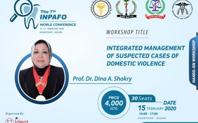 ورشة عمل بعنوان integrated management of suspected cases of domestic violence